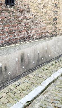 injecteren muur